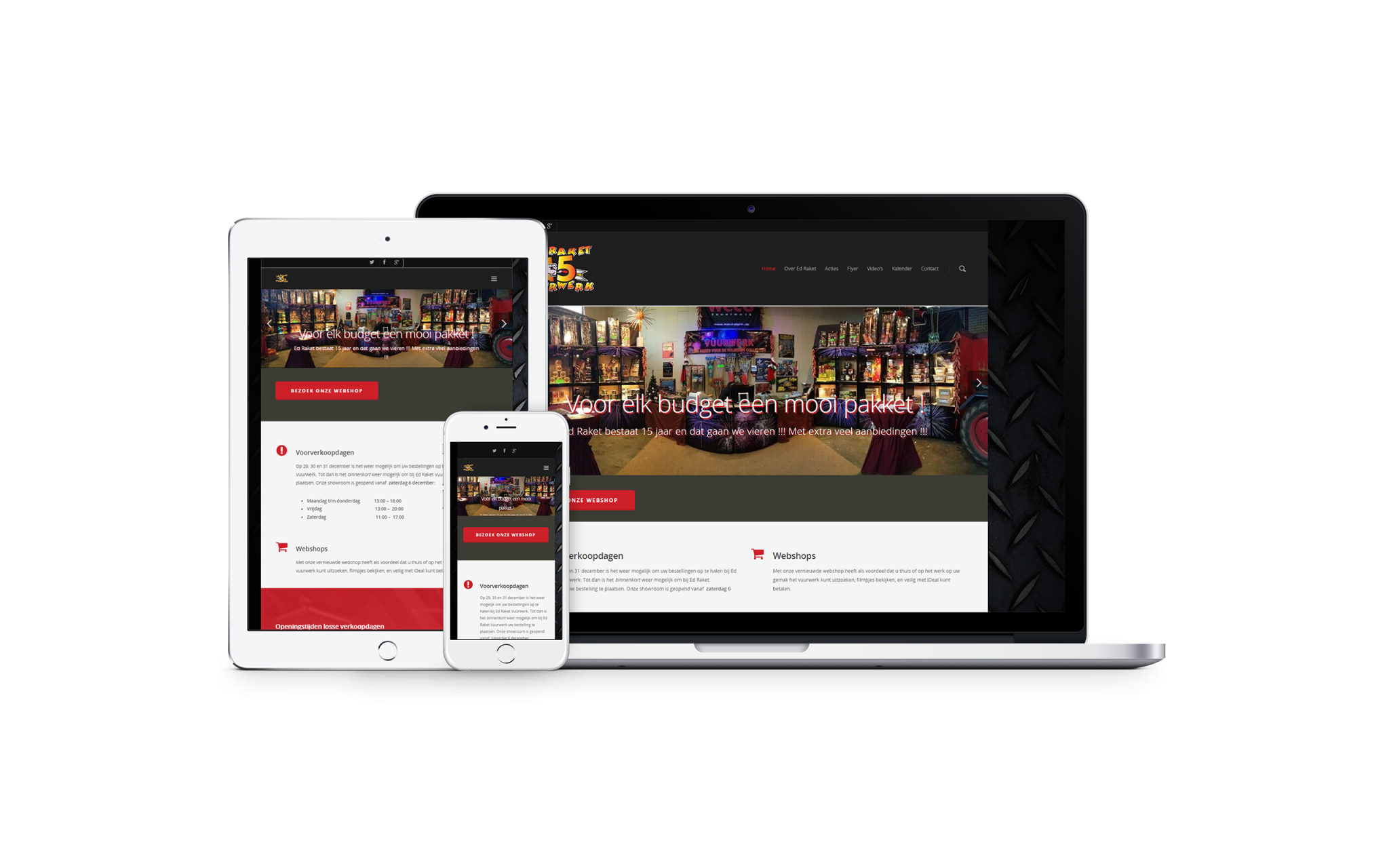 Showcase-edraket-nl-Ben-Webdesigner